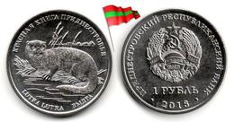 Transnistria - 1 Rouble 2018 (Red Book - Loutre - UNC - 50,000Ex.) - Moldavie