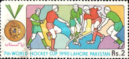 USED  STAMPS Pakistan - World Hockey Cup, Lahore -1990 - Pakistan