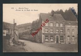 Marché-Theux. Arrivé De La Route De Sassor. - Theux