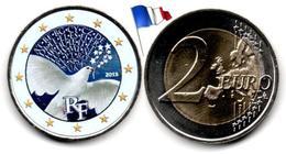 France - 2 Euro 2015 - (70 Ans De Paix En Europe- Colorée) - France