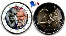 France - 2 Euro 2017 - (Auguste Rodin - Colorée) - France