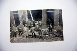 Wervik  FOTOKAART  Vernielingen Tijdens De Eerste Wereldoorlog - Wervik