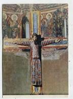 CHRISTIANITY  - AK 342529 Majestad  - Talla Policromada - Jésus