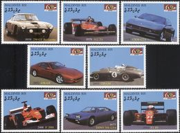 Maldives 2007 - Voitures Sport, Ferrari - 8 Val Neufs // Mnh - Automobile
