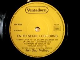 """JAN DAU MELHAU Occitan Acid Folk Psych Rare French Orig. En Tu Segre Los Jorns : 13 Tracks 7"""" - 45 T - Maxi-Single"""
