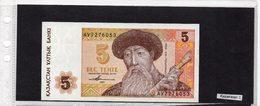 Banconota Kazakistan 5 Tenge - Kazakhstan