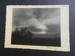 19855) CARTOLINA ARTISTICA FOTOGRAFICA ULTIMA LUCE NON VIAGGIATA - Photographie