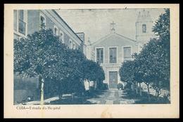 CUBA - HOSPITAIS - Entrada Do Hospital. ( Ed. Palácio Costa Fernandes) Carte Postale - Beja