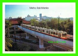 MANILA, PHILIPPINES - METRO RAIL MANILA - PHOTO BY COLIN NEVILLE - - Philippines