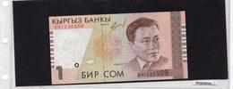 Banconota Kirghizistan  1 Som Kirghisio - Kirghizistan