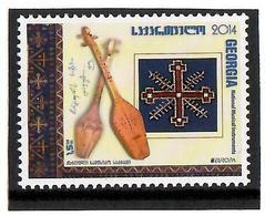 Georgia . 2015 EUROPA 2014 (Musical Instruments). 1v: 1.50  Michel # 664 - Georgien
