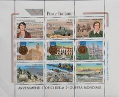 Italy  1995 End Of World War II,50th. Anniv. M/S - 6. 1946-.. Republic