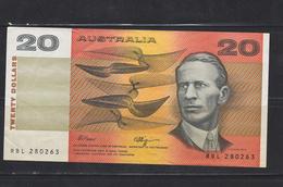AUSTRALIA-20-DOLLARS-CIRCULATE-SEE-SCAN - Emisiones Gubernamentales Decimales 1966-...