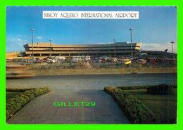 MANILLE, PHILIPPINES - NINOY AQUINO INTERNATIONAL AIRPORT - ANIMATED WITH CARS - - Philippines
