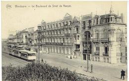WENDUYNE - Le Boulevard De Smet De Naeyer  - Tram - Star - Wenduine
