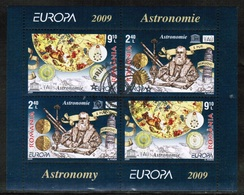 CEPT 2009 RO MI BL 445 II ROMANIA USED - Europa-CEPT