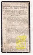 DP Magdalena M. Semetier / VanHove 14j. ° Sente Sint-Katrien 1896 † 1911 / Lendelede Kuurne Heule / Kortrijk - Devotion Images