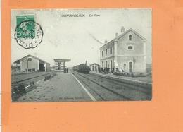 CPA - CHEVRANCEAUX - La Gare - Locomotive à Vapeurs - Altri Comuni