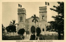 STANLEYVILLE CONGO La Cathédrale Avec Militaires En Armes - Congo - Brazzaville