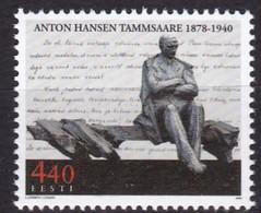 2003, EESTI, 455, 125. Geburtstag Von Anton Hansen Tammsaare.  MNH **, - Estonie