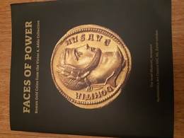 Faces Of Power, Roman Gold Coins From The Victor Adda Collection - Livres & Logiciels