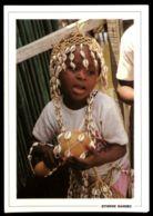 C415 BENIN - ETHNICS FOLKLORE PEOPLE CHILDREN WOMAN COSTUMES - L'INITIATION DE ENFANTS - Benin