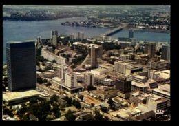 C416 CÔTE D'IVOIRE IVORY COAST - ABIDJAN - VUE AÉRIENNE 1977 - Côte-d'Ivoire