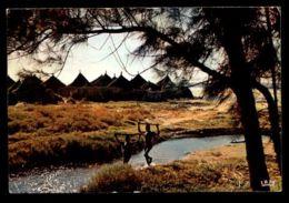 C418 CÔTE D'IVOIRE IVORY COAST - FOLKLORE ETHNICS PEOPLE COSTUMES - VILLAGE AFRICAIN CHILDREN BRINGING WATER 1966 - Costa D'Avorio