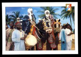 C435 TOGO - SCENESE COSTUMES WOMEN ETHNICS FOLKLORE PEOPLE - CAVALIERS DU NORD TOGO - Togo