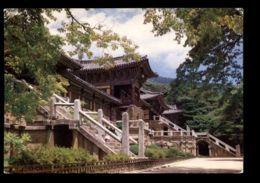 C441 SOUTH KOREA - GYEONGJU - VIEW OF BULGUG TEMPLE - Corea Del Sud