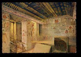 C427 LUXOR LOUXOR - TOMB OF RAMSES VI - STAMP OF UAR UNITED ARAB REPUBLIC - Luxor