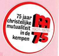 Sticker - 75 Jaar CM In De Kempen - 01 197619 - Autocollants