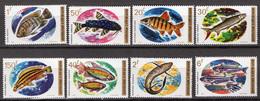 1973 - RUANDA - Catg.. Mi. 577/584 - NH - (CW1822.6) - Rwanda