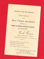 Image Pieuse ... Généalogie ... Noces D'Argent Sacerdotales 1921 Chanoine De Bayeux Monastère De DEAUVILLE - Devotion Images