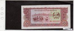 Banconota Laos 50 Kip - Laos