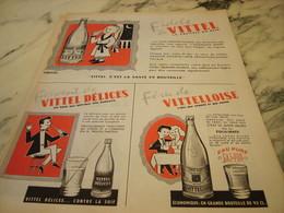 ANCIENNE PUBLICITE FIDELE A VITTEL OU VITTEL DELICE OU VITTELOISE  1955 - Affiches