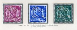 Malta - 1964 - Natale - 3 Valori - Nuovi - Vedi Foto - (FDC13770) - Malte