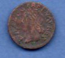 Louis XIII / Double Tournois / 1643 H / B+ - 987-1789 Royal