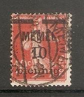 006704 Germany Memel 1920 10pf FU - Klaipeda