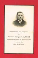 Image Pieuse ...Généalogie ... Souvenir De M Georges LAURENT Rappelé En 1950 Luc Sur Mer - Devotion Images