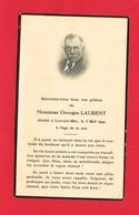 Image Pieuse ...Généalogie ... Souvenir De M Georges LAURENT Rappelé En 1944 Luc Sur Mer - Devotion Images