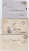 Preussen , 3 Briefe Oder Briefhüllen - Prusse