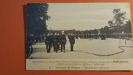 -Sapeurs Pompiers-Concours De Pompes-cessation De La Manoeuvre- - Firemen