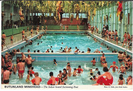 Butlinland MINEHEAD - Indoor Swimming Pool Posted 1976 (John Hinde 3M21) [P0089/1D] - England