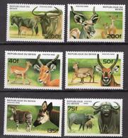 1996 - BENIN  - Catg.. Mi. 856/861 - NH - (CW1822.6) - Benin – Dahomey (1960-...)