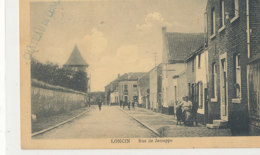 A M 118 /  C P A   BELGIQUE - LONCIN  RUE DE JEMEPPE - Ans