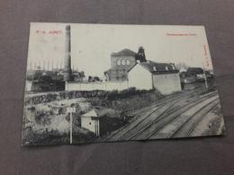 Jumet Charbonnage Du Centre Voie Train Charleroi 1911 - Charleroi