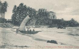 A M 150 /  C P A   SRI LANKA  CEYLON   MOUNT LAVINIA HOTEL & SEA SHORE - Sri Lanka (Ceylon)