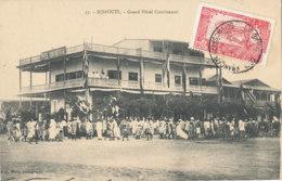 A M 183 /  C P A - DJBOUTI  - GRAND HOTEL CONTINENTAL - Djibouti