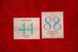 Zakenpostzegels Gestanst; NVPH 2487-2488 (Mi 2480-2481) 2006 POSTFRIS / MNH ** NEDERLAND / NIEDERLANDE / NETHERLANDS - 1980-... (Beatrix)